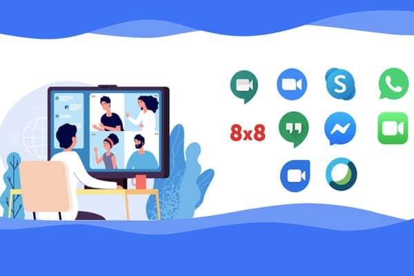 نرم افزار های ویدئو کنفرانس